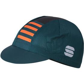 Sportful Mate Cap Herren sea moss black orange sdr